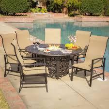 fresh fire table patio set e6sg3 formabuona com