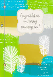 congratulations card starting something new congratulations card greeting cards