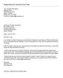 Telecom Resume Telecom Technician Cover Letter