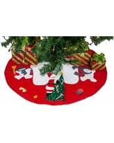 spectacular deal on imperial home 36 burlap tree skirt