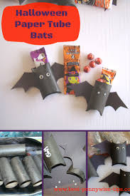 halloween paper tube bats fun frugal easy to make