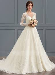 lace wedding dress gown scoop neck court tulle lace wedding dress