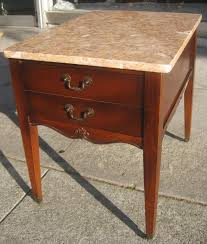Antique Marble Top Nightstand Antique Marble Top End Tables Loccie Better Homes Gardens Ideas