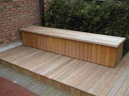 Wood Bench Plans Deck by Deck Storage Bench Plans Top Features Deck Storage Bench U2013 Home