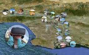 Los Angeles River Map by Los Angeles River Virtual Reality Experience Pacific Virtual Reality