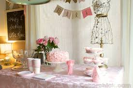 shabby chic birthday party archives decorchick