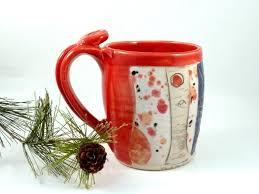 custom handmade ceramic tea mug by blue sky pottery custommade com
