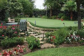 Backyard Putting Green Designs by Home Celebrity Greens Palm Springs