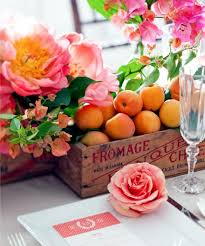 flowers and fruits make your own table decorations flowers and fruits bring summer