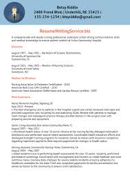Nurses Resume Examples by Nurse Resume Sample Resume Writing Service