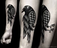 beautiful crow tattoo design tb1017 tattoo designs tattoo pictures