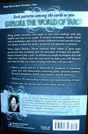tarot notes review tarot spreads by barbara moore