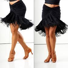 fringe bell latin dance skirt salsa latin ballroom dance skirt