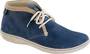amazon canada s boots birkenstock scarba s boots from suede blue narrow slim fit