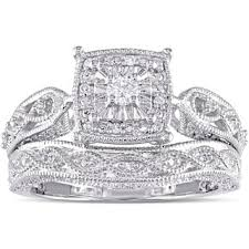 silver diamond rings sterling silver engagement rings shop the best deals for nov