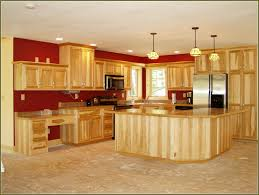Natural Hickory Kitchen Cabinets Kitchen Room Design Home Small Kitchen Equipped White Kitchen