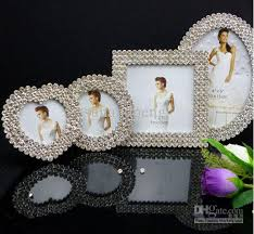 Cheap Photo Albums Metal Frame 3 3 4 6 Diamond Mosaic Alloy Picture Frames Albums
