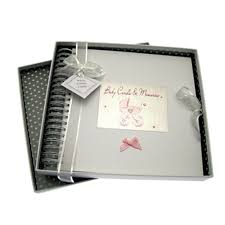 baby girl memory book baby boy card and memory book 10080 olive branch gifts