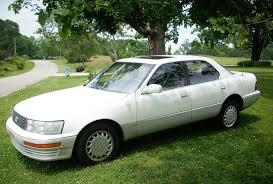 lexus ls400 v8 for sale 1991 lexus ls400 white very nice condition classic lexus ls 1991
