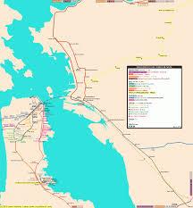 Map Usa San Francisco by San Francisco Metro Map Map Travel Holiday Vacations