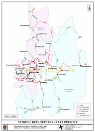 Uva Map District Map Best Places In The Sri Lanka