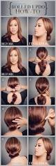 Easy Updo Hairstyles Step By Step by Best 25 Easy Updo Tutorial Ideas On Pinterest Easy Updo Hair