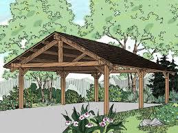 open carports carport plans carport designs the garage plan shop