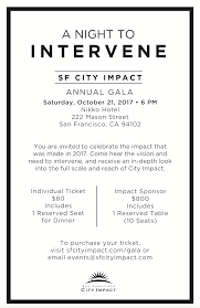 events san francisco city impact