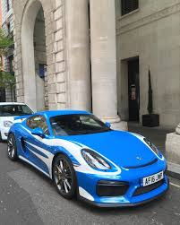 voodoo blue porsche the gt4 project