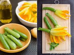 cuisiner de la courgette les fleurs de courgette farcies les cocottes moelleuses