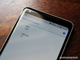 find an android phone how to find the imei number on your android phone android central