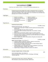 best security guard resume sample 2016 resume samples 2017