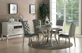 Dining Room Furniture Miami 5pc Antique Silver Dining Table Room Table Set In Miami Dade