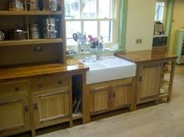 unfitted kitchen furniture arts and crafts movement oak fitted unfitted kitchen furniture