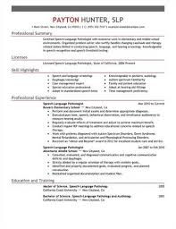Best Sample Resumes by Here Are The Guidelines To Create A Speech Therapist Resume