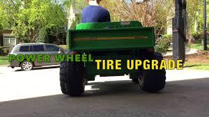 gator power wheels peg perego u0026 power wheels tire and traction upgrade youtube