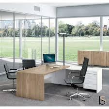 bureau coloré bureau avec retour t45 bi colore quadrifoglio bureaux de