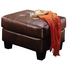 coaster chenille glider and ottoman in chocolate vignettes