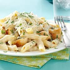 Pasta Recipes by Penne Gorgonzola With Chicken Recipe Taste Of Home
