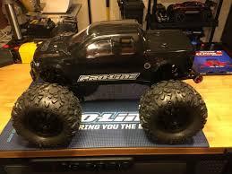 Radio Control Harley Davidson Fat Boy Traxxas E Maxx Brushless Black Rc Car Click Toys Hobbies