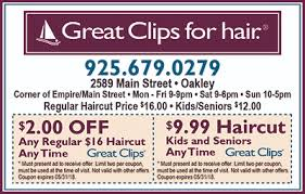 haircut specials at great clips stores great clips for hair