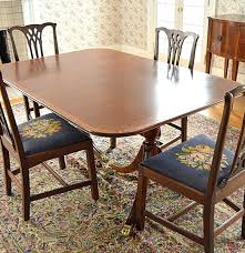 Antique Reproduction Dining Chairs Articles With Contemporary Dining Table And Chairs Tag Cool