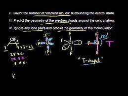 Khan Academy Periodic Table Vsepr For 5 Electron Clouds Continued Khan Academy