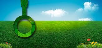 le de bureau verte de l herbe verte de bureau vert protection des yeux le ciel bleu