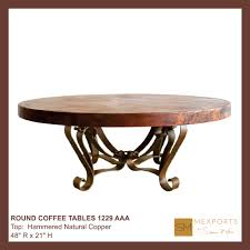 coffee table round archives mexports by susana molina fine furniture
