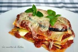 cuisiner des aubergines facile recette de lasagnes aux aubergines et mozzarella la recette facile
