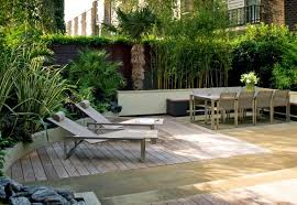 Ideas For Garden Furniture by Easy Low Maintenance Modern Backyard Ideas For Creating