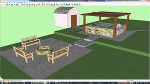 Backyard Design Tools Look What You Can Design With Google Sketchup My New Back Yard