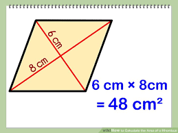 A Rectangle Is A Parallelogram With A Right Interior Angle 3 Clear And Easy Ways To Calculate The Area Of A Rhombus