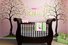 fresque chambre bébé chambre de bébé fille le de lyll